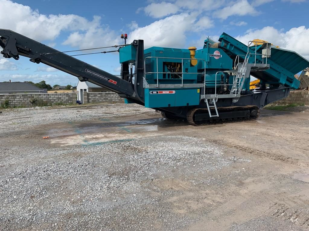 2014 Powerscreen 1000 Maxtrack available with Caterpillar C9